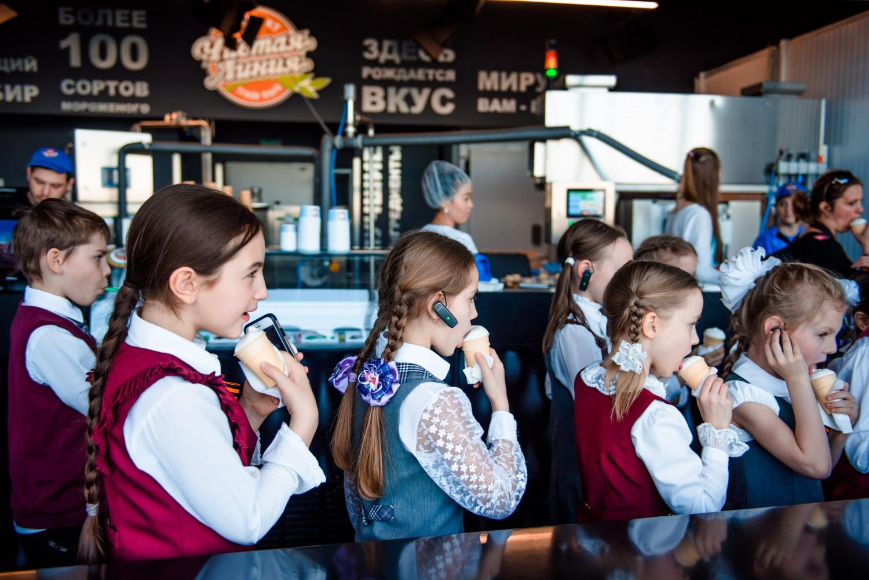 Самая высокая в мире фабрика мороженого PANORAMA 360 фото