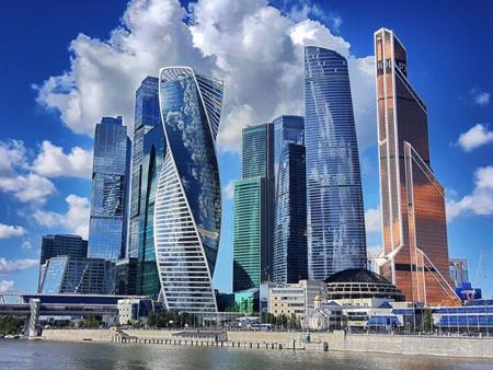 Москва-Сити Башня Федерация PANORAMA360